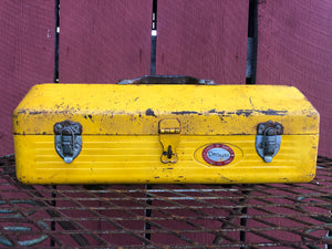 Yellow Bubble Bee Tool Box