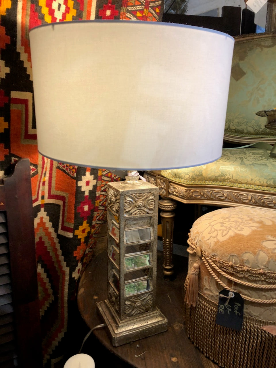 Chic Mirrored Lamp