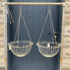 Vintage Metal Hanging Basket