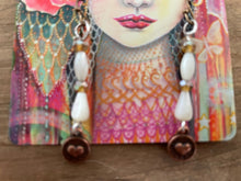 Load image into Gallery viewer, Tiny Heart Handmade Earrings