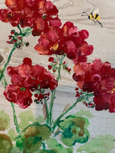 Load image into Gallery viewer, Bright Red Geraniums