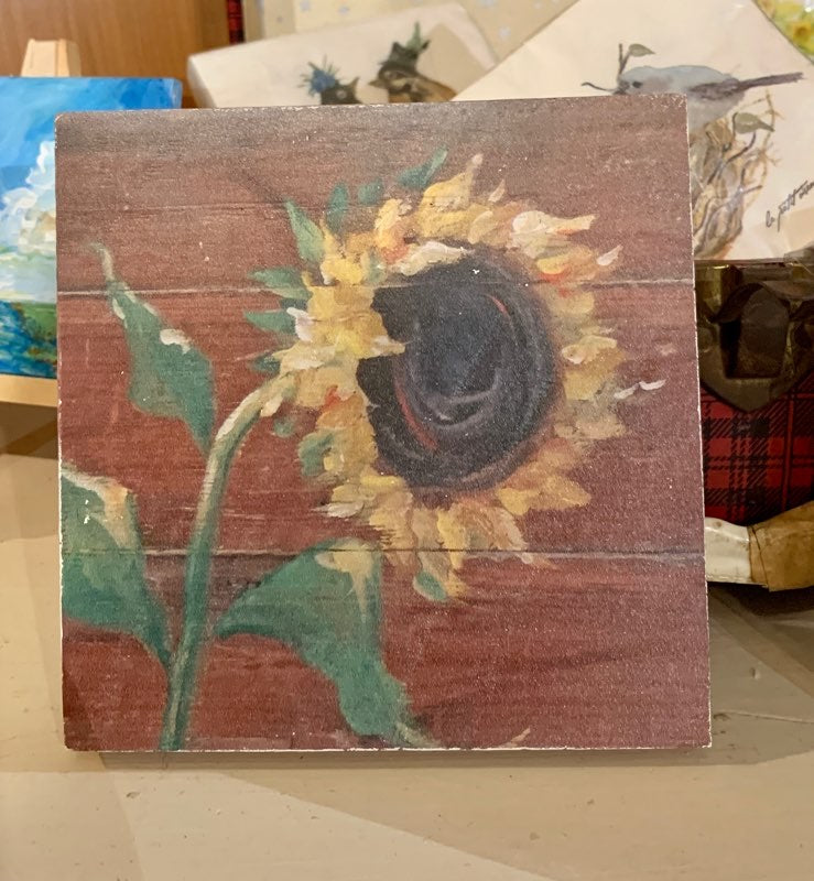 Beloved Local Artist Molly's Prints on Wood