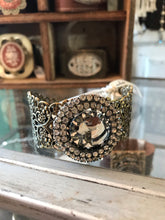 Load image into Gallery viewer, Handmade Vintage Findings Cuff