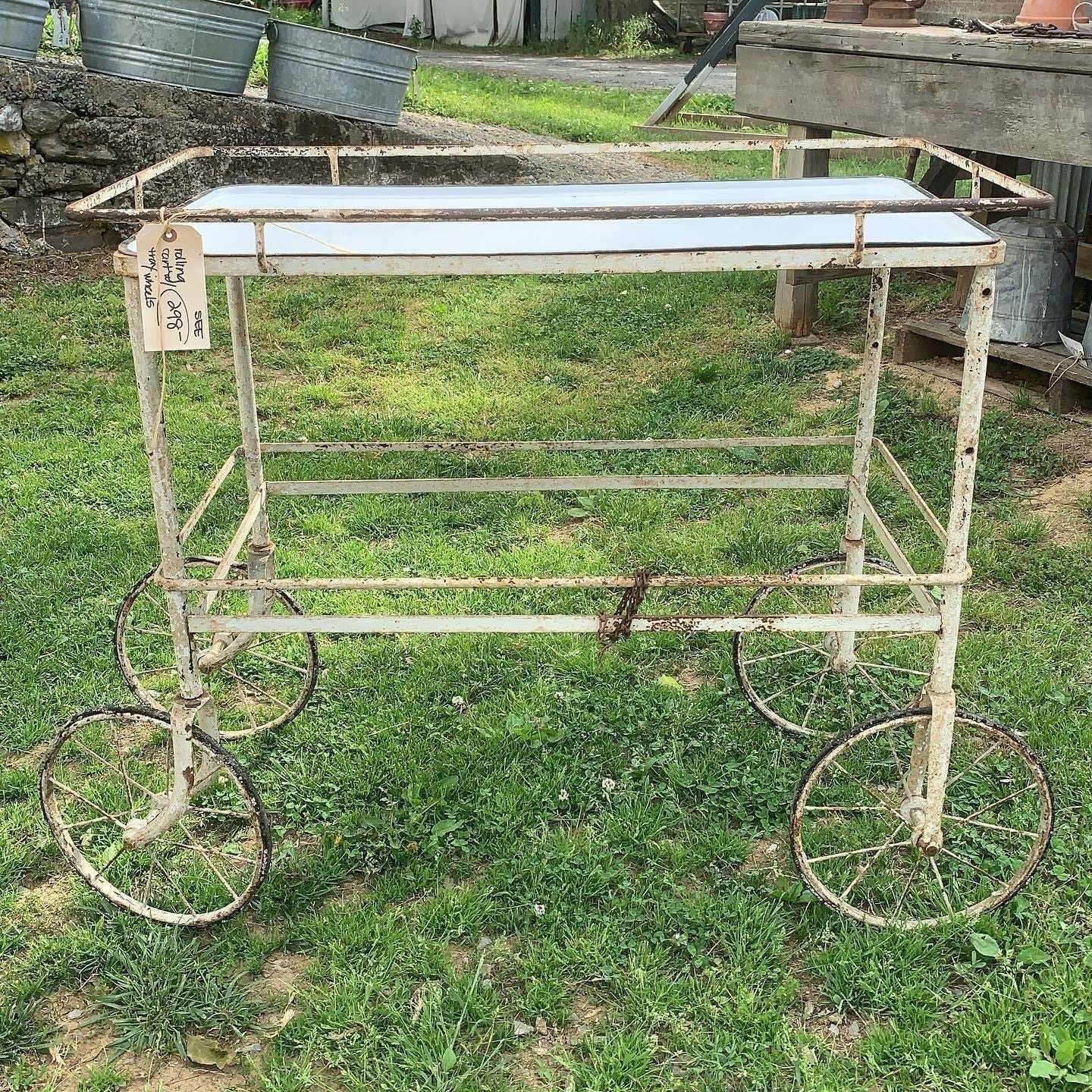 Cool, Vintage Entertaining Cart