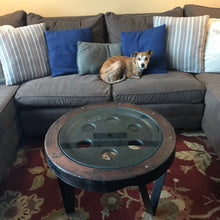 Load image into Gallery viewer, One of a Kind Custom Wheel Mold Coffee Table