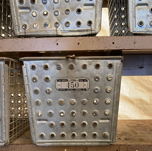 Vintage Locker Baskets
