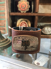 Vintage Child's Western Belt Buckle Cuff