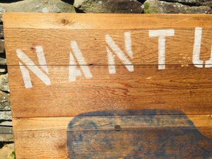 Hand Painted Nantucket Sign