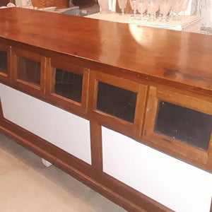 Genuine Seed Counter - kitchen island!