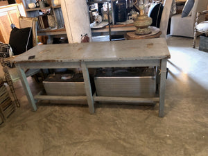 Primitive Style Console Table