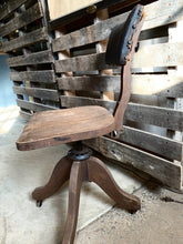 Load image into Gallery viewer, Industrial Swivel Vintage Chair