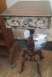 Wonderfully Distressed Side Table