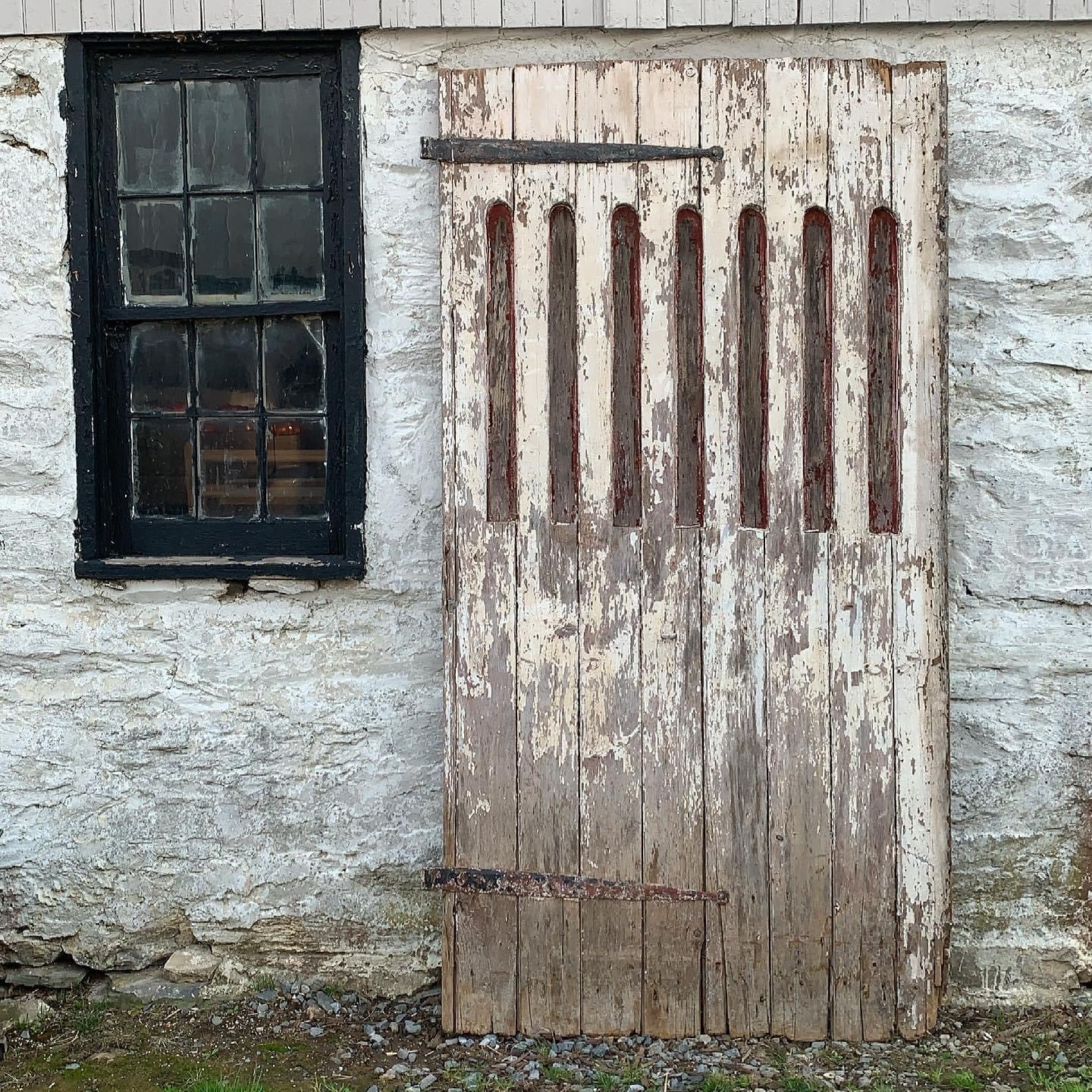 Hand Forged Barn Door