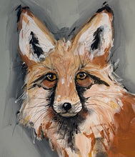 Load image into Gallery viewer, Fox Original Hand Painted on Gallery Canvas