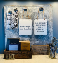 Load image into Gallery viewer, Handmade Metal Sassy Signs
