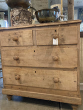 Load image into Gallery viewer, 4 Drawer Pine Chest