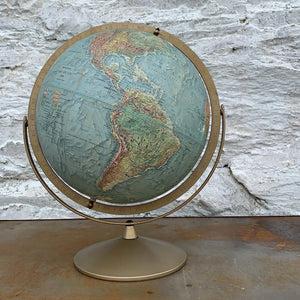Vintage Great Relief Globe