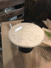 Load image into Gallery viewer, Wood Black and White Cake Stands