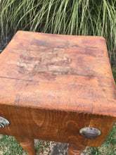 Load image into Gallery viewer, Vintage 1930's Butcher Block