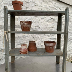 Weathered Vintage Grey Shelf