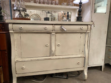 Load image into Gallery viewer, Vintage Painted Oak Sideboard/Bar