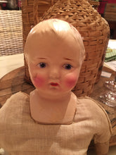 Load image into Gallery viewer, Antique 1940's Soft Body Doll by Woodtex, NY