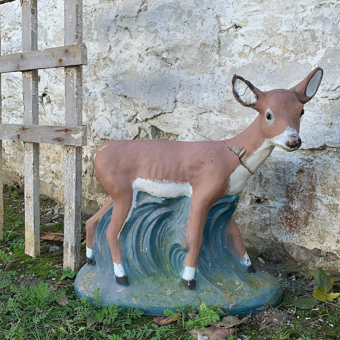 Darling Sweet Concrete Deer
