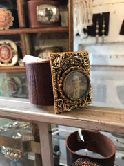 Handmade Antique Photo Cuff
