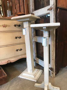 Farmhouse Chic Plant Stands