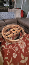 Load image into Gallery viewer, One of a Custom Handmade Wheel Mold Coffee Table