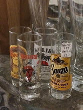Load image into Gallery viewer, Set of Four Shot Glasses