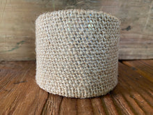 Load image into Gallery viewer, Burlap Cuff Bracelet
