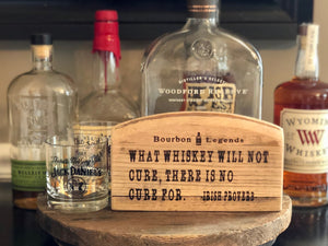 Bourbon Barrel Signs