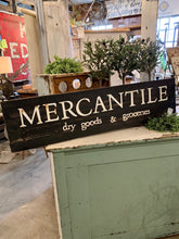 Load image into Gallery viewer, Mercantile Sign