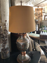 Load image into Gallery viewer, Vintage Mixed Metals Lamp