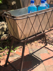 METAL PLANTER STAND-SHORT