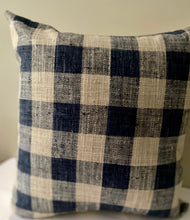 Load image into Gallery viewer, French Country Blue Accent Pillow