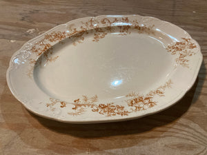 English Transfer-ware Ironstone Platter