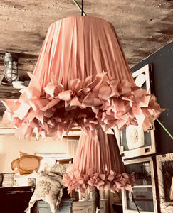 Large Ribbon Pendant Lights