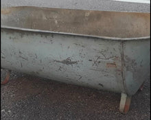 Load image into Gallery viewer, Antique European Galvanized Bath Tubs