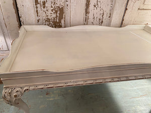 Vintage French Claw Foot Coffee Table