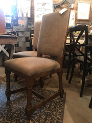Pair of Upholstered End Chairs