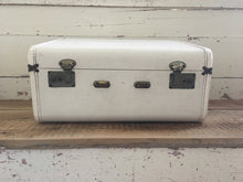 Load image into Gallery viewer, Vintage White Suitcase