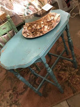 Load image into Gallery viewer, Turquoise Occasional Table