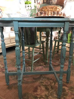 Turquoise Occasional Table