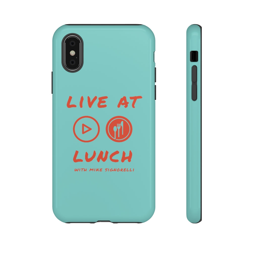 Live At Lunch Phone Case