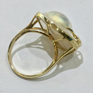 South Sea Mabe Pearl Ring