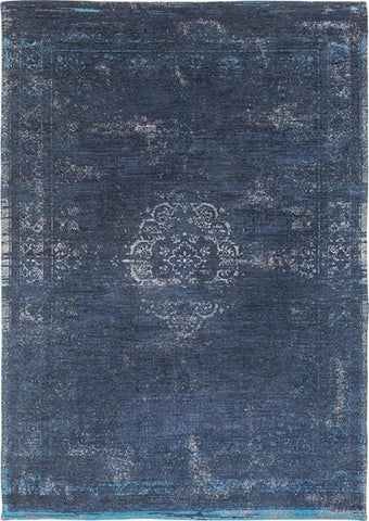 Fading World Medallion Blue Night 8254 Top