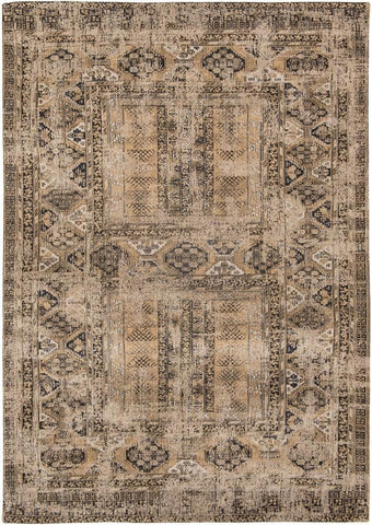 Louis De Poortere Antiquarian Antique Hadschlu 8720 Agha Old Gold Top of Rug