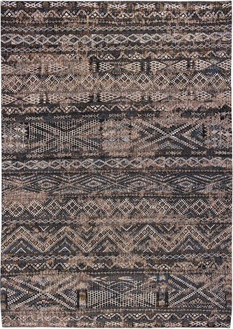 Antiquarian Kilim Black Rabat 9113 Top Down